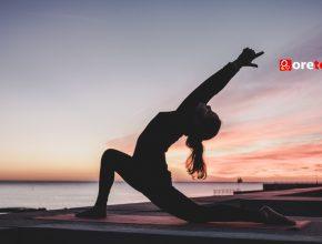 Yoga exercise towards